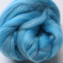 50g Pack of Tonal Aquas 23 Micron Merino Wool Tops